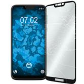 1 x Moto G7 Power Protection Film Tempered Glass clear full screen black