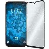 1 x Moto G8 Plus Protection Film Tempered Glass clear full screen black