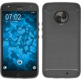 Silicone Case Moto X4 Ultimate gray Case