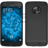 Silicone Case Moto X4 Ultimate black Case