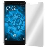 2 x Nokia 6.1 (2018) Schutzfolie klar