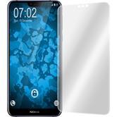 2 x Nokia 6.1 Plus Schutzfolie klar curved