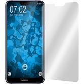 2 x Nokia 6.1 Plus Schutzfolie klar