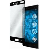 2 x 8 Protection Film Tempered Glass clear full screen black