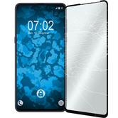 1 x Mi Mix 3 Protection Film Tempered Glass clear full screen black