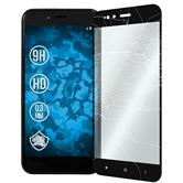 2x Mi 5x klar full screen Glasfolie schwarz