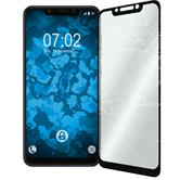 1 x Pocophone F1 Protection Film Tempered Glass clear full screen black