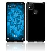 Silicone Case Redmi 9C crystal-case black Cover