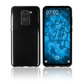 Coque en silicone Mi Note 9 crystal-case noir Cover