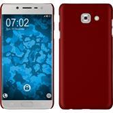 Silicone Case Galaxy Note 8 matt red + Flexible protective film