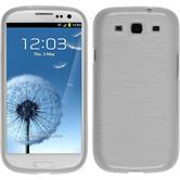 Silicone Case for Samsung Galaxy S3 Neo brushed white