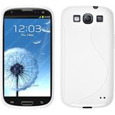 Silicone Case for Samsung Galaxy S3 Neo S-Style white