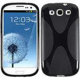 Silicone Case for Samsung Galaxy S3 Neo X-Style black