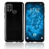Silicone Case Galaxy M31 crystal-case black Cover