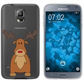 Samsung Galaxy S5 Neo Silikon-Hülle X Mas Weihnachten  M3