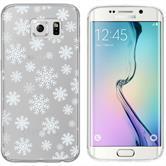 Samsung Galaxy S6 Edge Silikon-Hülle X Mas Weihnachten  M2