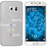 Samsung Galaxy S6 Edge Coque en Silicone pride M2