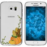 Samsung Galaxy S7 Silicone Case autumn M5