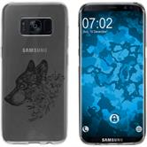 Samsung Galaxy S8 Plus Silikon-Hülle Floral  M3-1