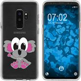 Samsung Galaxy S9 Plus Silicone Case Cutiemals M6