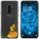 Samsung Galaxy S9 Plus Silicone Case autumn M5