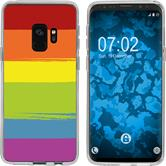 Samsung Galaxy S9 Silicone Case pride M6