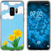 Samsung Galaxy S9 Silicone Case Easter M4