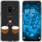 Samsung Galaxy S9 Silicone Case summer M3