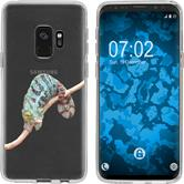 Samsung Galaxy S9 Silicone Case vector animals M7