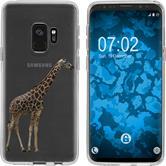 Samsung Galaxy S9 Silicone Case vector animals M8