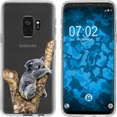 Samsung Galaxy S9 Silicone Case vector animals M9