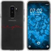 Samsung Galaxy S9 Silicone Case in Love M2