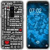 Samsung Galaxy S9 Silicone Case in Love M5