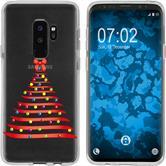 Samsung Galaxy S9 Silikon-Hülle X Mas Weihnachten  M1