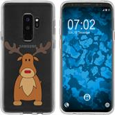 Samsung Galaxy S9 Silikon-Hülle X Mas Weihnachten  M3