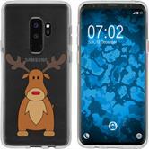 Samsung Galaxy S9 Silicone Case Christmas X Mas M3