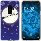Samsung Galaxy S9 Silikon-Hülle X Mas Weihnachten  M4