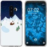 Samsung Galaxy S9 Silikon-Hülle X Mas Weihnachten  M6