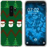 Samsung Galaxy S9 Silikon-Hülle X Mas Weihnachten  M7