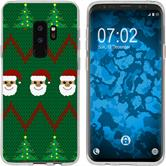 Samsung Galaxy S9 Silicone Case Christmas X Mas M7