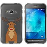 Samsung Galaxy Xcover 3 Silicone Case Christmas X Mas M3