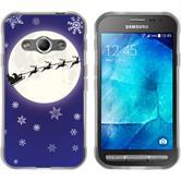 Samsung Galaxy Xcover 3 Silicone Case Christmas X Mas M4