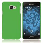 Hardcase for Samsung Galaxy A3 (2016) A310 rubberized green