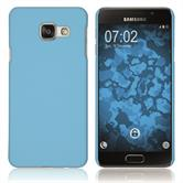 Hardcase for Samsung Galaxy A3 (2016) A310 rubberized light blue