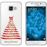 Samsung Galaxy A7 (2016) A710 Silikon-Hülle X Mas Weihnachten  M1