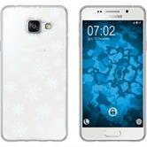 Samsung Galaxy A7 (2016) A710 Silikon-Hülle X Mas Weihnachten  M2