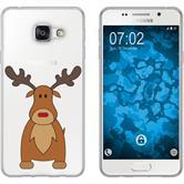 Samsung Galaxy A7 (2016) A710 Silikon-Hülle X Mas Weihnachten  M3