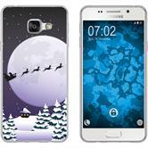 Samsung Galaxy A7 (2016) A710 Silikon-Hülle X Mas Weihnachten  M5