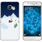 Samsung Galaxy A7 (2016) A710 Silikon-Hülle X Mas Weihnachten  M6