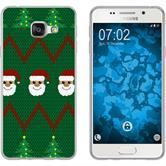 Samsung Galaxy A7 (2016) A710 Silikon-Hülle X Mas Weihnachten  M7